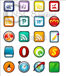 Link toXp stereo cartoon software icons