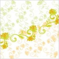 Link toYellow and green flower vector background, adobe illustrator flower design