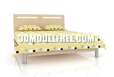 Link toYellow bed 3d models