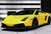 Yellow ferrari sports cars hd pictures