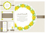 Link toYellow floral vector