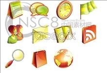 Link toYellow-green computer desktop icons