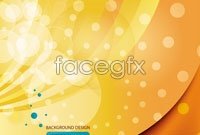 Link toYellow halo background vector