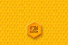 Link toYellow honeycomb-shaped seamless vector background