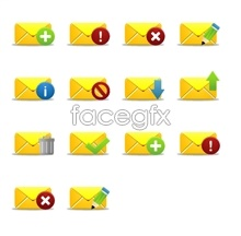 Link toYellow mail desktop icons