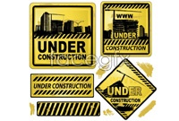 Link toYellow traffic sign vector