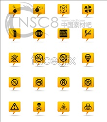 Link toYellow warning sign icons