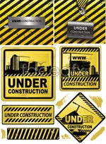 Link toYellow warning sign vector
