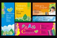 Link toYoung learners english school boards vector