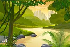Link toYu jing mountain valley arrow amount of vector
