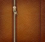 Link toZipper leather vector