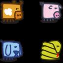 Zootetragonoides icons 1-2